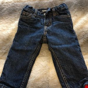 Cute fleece lined jeans!
